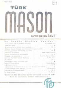 Türk Mason Dergisi Sayı (8)