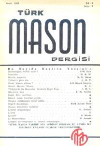 Türk Mason Dergisi Sayı (9)